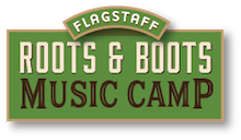 Roots and Boots Music Camp | Flagstaff, AZ Logo