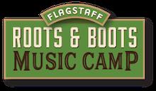 Roots and Boots Music Camp | Flagstaff, AZ Logo